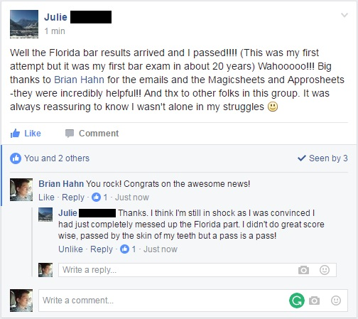 passing the bar