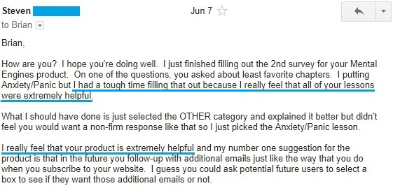 """""""I really feel that your product is extremely helpful"""""""