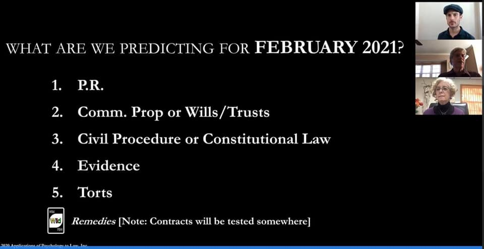 What are we predicting for February
